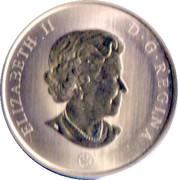 50 Cents - Elizabeth II (Snowman) -  obverse