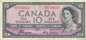 10 Dollars (With Devil's face) – obverse