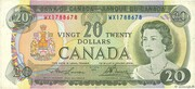 20 Dollars -  obverse