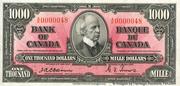 1,000 Dollars -  obverse