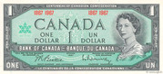 1 Dollar (Centennial of Confederation) – obverse