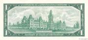 1 Dollar (Centennial of Confederation) – reverse
