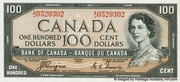 100 Dollars (With Devil's face) -  obverse
