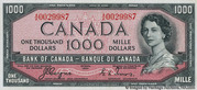 1,000 Dollars (With Devil's face) -  obverse