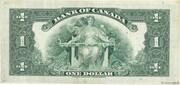 1 Dollar (English) – reverse