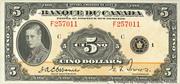 5 Dollars (French) – obverse