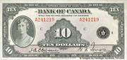 10 Dollars (English) – obverse