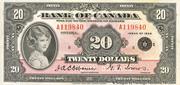 20 Dollars (English) -  obverse