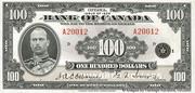 100 Dollars (English) – obverse