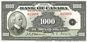 1,000 Dollars (English) – obverse