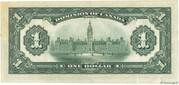 1 Dollar (Dominion of Canada) -  reverse
