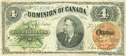 4 Dollars (Dominion of Canada) – obverse