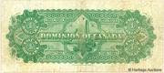 4 Dollars (Dominion of Canada) – reverse
