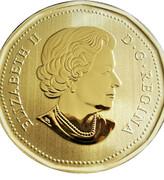 1 Dollar - Elizabeth II (Black-footed ferret) -  obverse