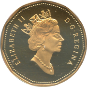 1 Dollar - Elizabeth II (3rd portrait) -  obverse