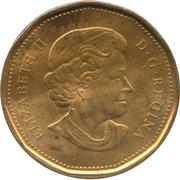 1 Dollar - Elizabeth II (Canadian Parks) -  obverse