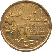 1 Dollar - Elizabeth II (Canadian Parks) -  reverse
