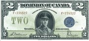 2 Dollars (Dominion of Canada) – obverse