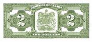 2 Dollars (Dominion of Canada) – reverse