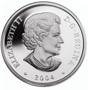 20 Dollars - Elizabeth II (Aurora Borealis) – obverse