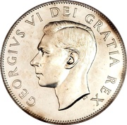 50 Cents - George VI -  obverse