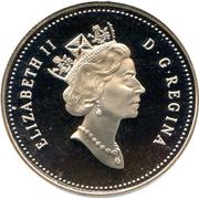 50 Cents - Elizabeth II (Humpback whale) -  obverse