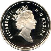 50 Cents - Elizabeth II (Beluga Whale) -  obverse