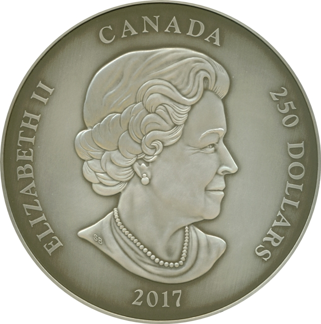 250 Dollars Elizabeth Ii The Canadian Coin Collection