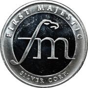 1 oz Silver (First Majestic, Mayan) – reverse