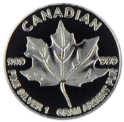 1 g Silver (Silver Maple Leaf) – obverse