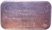 1 oz Silver (Engelhard Industries of Canada) – obverse