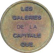 Token - Sportèque (Quebec) – reverse