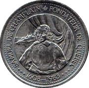 30 Cents - J.A. Moissan (Samuel de Champlain) – obverse