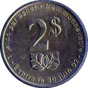 2 Dollars - Jardins Hamel – obverse