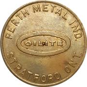 Spinner Token - Perth Metal (Stratford, Ontario) – obverse