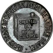 Token - Ludger Gravel - Balmoral Oil / P.P. Mailloux (Montréal, Quebec) – obverse