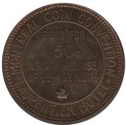 50 Cents - La convention de monnaie de Montréal (Montréal, Québec) – reverse