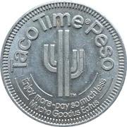 1 Dollar - Taco Time Peso – obverse