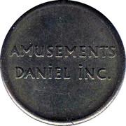 Token - Amusement Daniel Inc. (Montreal, Quebec) – reverse