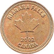 Token - Great Canadian Midway – reverse