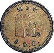 Token - M.I.T. S.C.C. (No Cash Value) – reverse