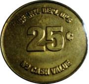 25 Cents (No Cash Value) – reverse