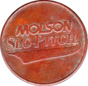 Token - Molson Slo-Pitch (Niagara Falls Optimist Club) – reverse