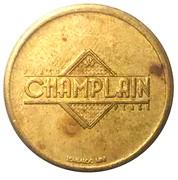 Token - Crystal Palace - Champlain Place (Moncton, New Brunswick) – reverse