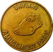 Token - Skylon Amusement Park – reverse