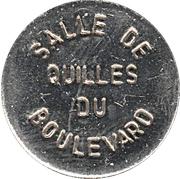 Token - Salle de quilles du boulevard (La Baie, Québec) – obverse