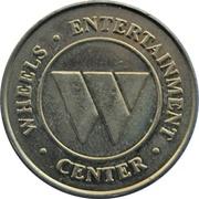 Token - Wheels Entertainment Center (Chatham, Ontario) – obverse