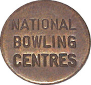 Token - National  Bowling Centers – obverse