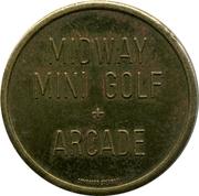 Game Token - Midway Mini Golf – obverse