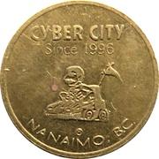 Game Token - Cyber City (Nanaimo, British Columbia) – obverse